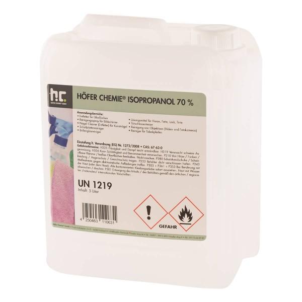5 Liter Isopropanol 70%