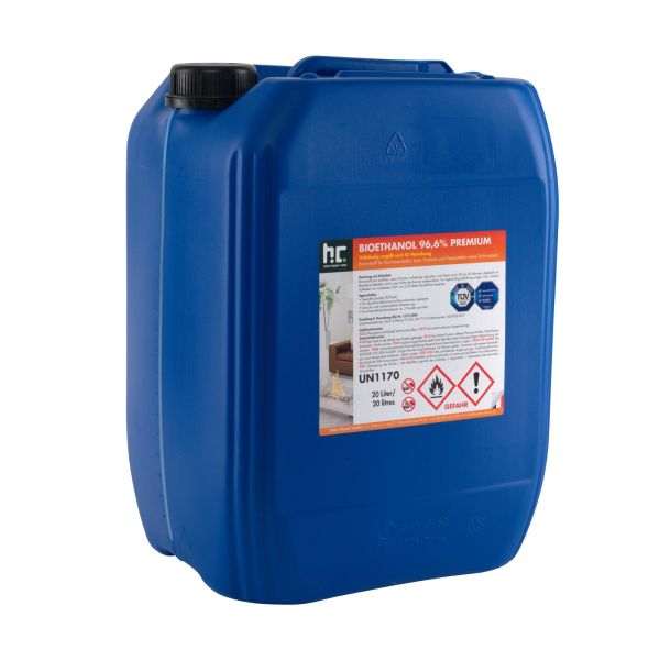 Premium Bioethanol 96,6% 20 L-Kanister Höfer Chemie