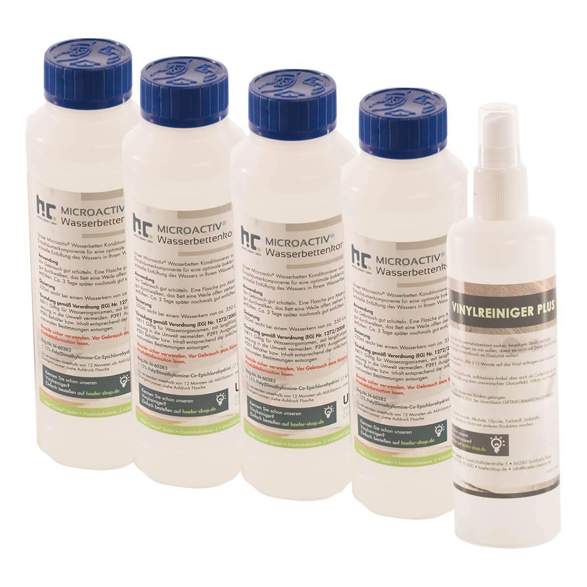 Conditionneur 4x250ml & Nettoyant vinyle 250ml