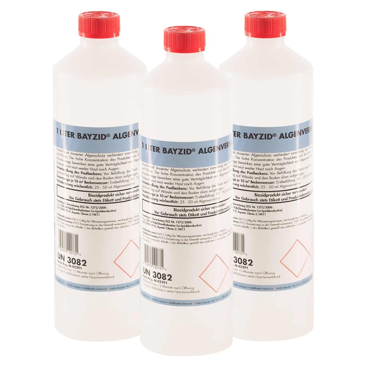 Bayzid® Anti-algues 6 x 1 L