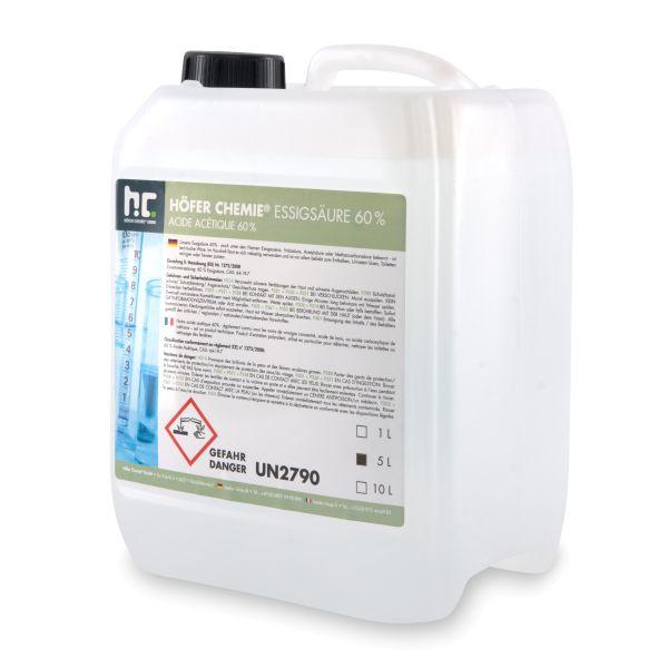Essigsäure 5 Liter Kanister Höfer Chemie Galerie