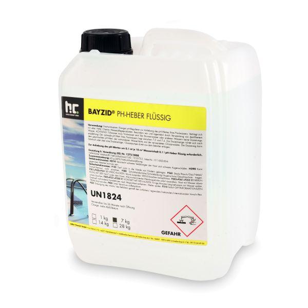 BAYZID pH Plus im 7kg-Kanister (pH Heber flüssig)