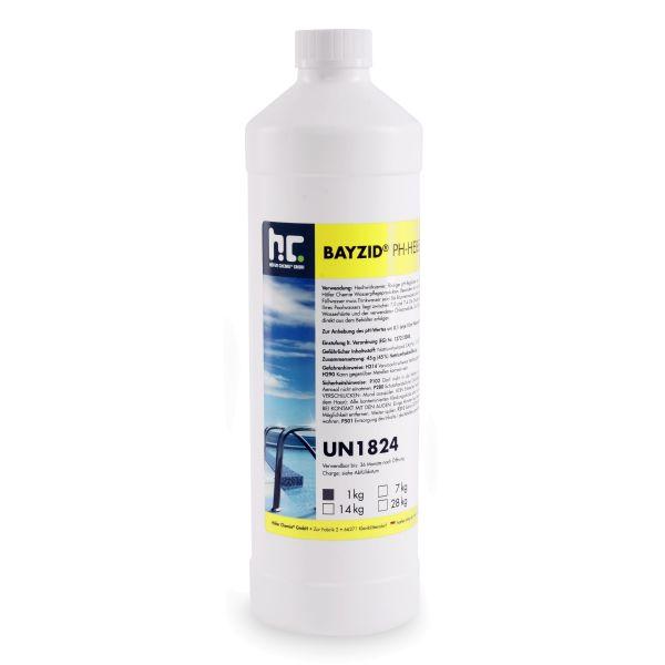 1kg pH Heber flüssig pH-Plus Flasche Höfer Chemie