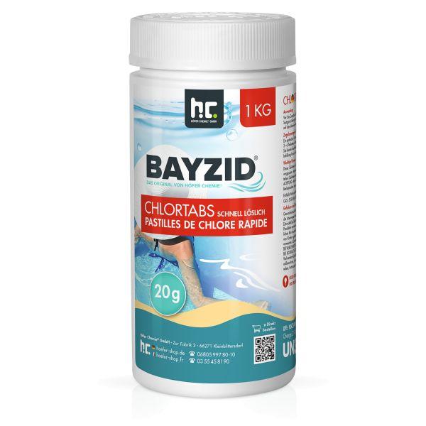 BAYZID Chlortabs 20g schnell löslich (1kg)