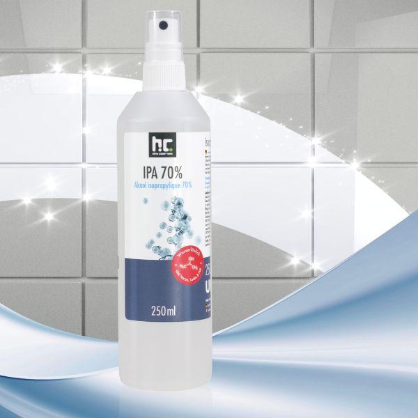 250 ml alcool isopropylique 70% en flacon vaporisateur