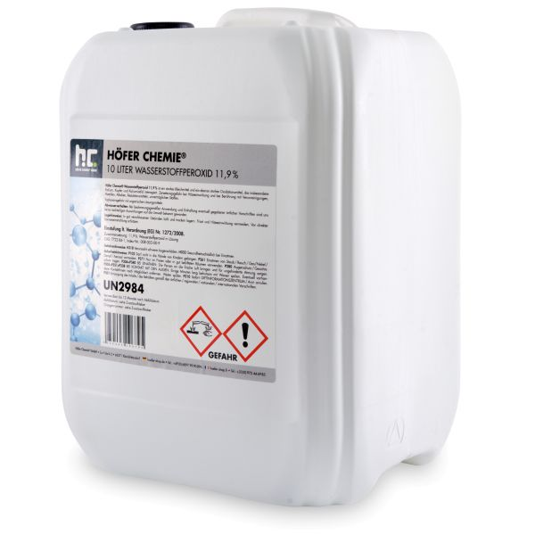 10l Wasserstoffperoxid 11,9% Höfer Chemie Galerie